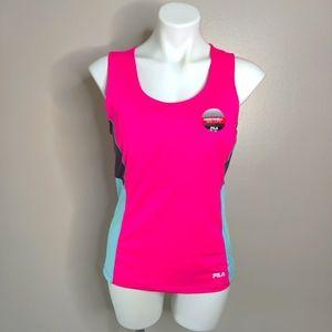 NWOT Fila Pink Active Workout Tank Top Sz L